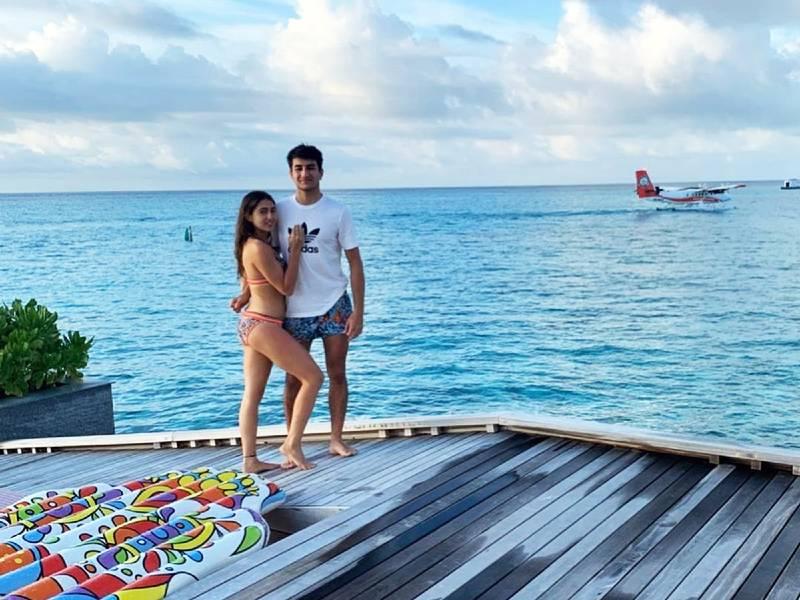 young bollywood actress sara ali khan bikini photos with brother ibrahim - Sara Ali Khan Bikini Pictures | Hot Sara Ali Khan Bikini Photos Are Really Astonishing